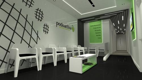 diseño clínica podologica