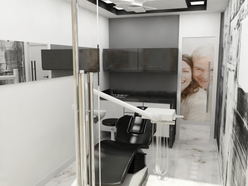 GABINETE DENTAL INTERIOR