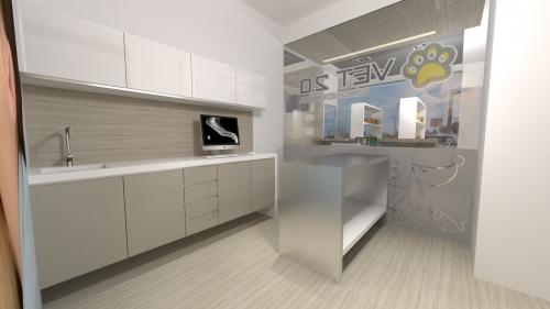 diseño gabinete clinica veterinaria