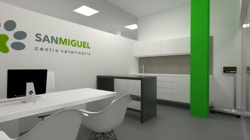 gabinete diseño clínica veterinaria