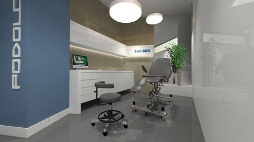 diseño gabinete podología