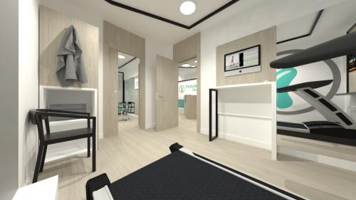 diseño consulta clinica deportiva