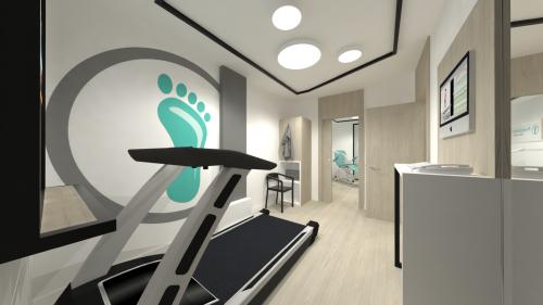 mobiliario clinica deportiva