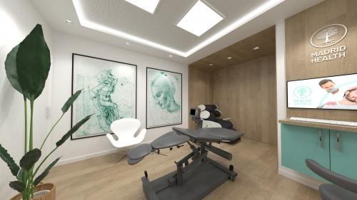diseño clínica quiropráctica